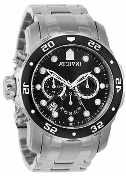 """Invicta Men's 0069 """"Pro Diver Collection"""" Stainless Steel Wa"""