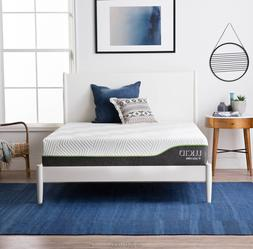 LUCID 10 inch Innerspring and Memory Foam Hybrid Mattress -