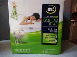 $180. MSRP, New Serta Full Mattress Saver 1.5-inch Memory Fo