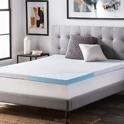 2.5 Ventilated Gel Memory Foam Mattress Topper by LUCID Quee
