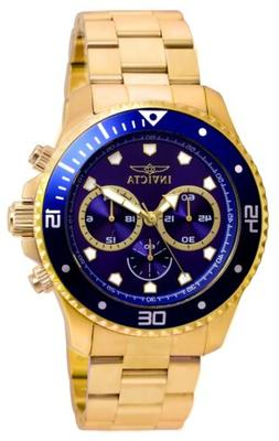 Invicta 21789 Pro Diver Men's Chronograph 45mm Stainless Ste