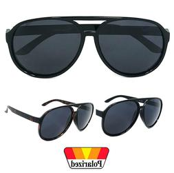 80s Polarized Large Aviator Sunglasses for Men Vintage Sport