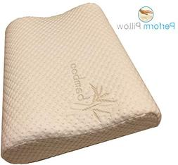 Memory Foam Neck Pillow - Double Contour - Chiropractor Appr
