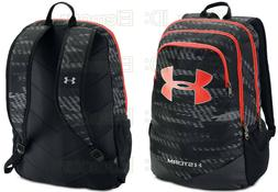 Under Armour Boy's Storm Scrimmage Backpack, Black /Radio Re