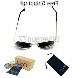 Goson American Flag Mirror Aviator Novelty Decorative Sungla