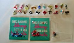 Authentic Origami Owl Summer/Patriotic  2018 Charms FREE SHI