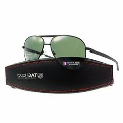 TAG Heuer Automatic 0881 301 58mm Aviator Sunglasses in Blac