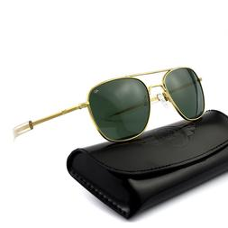 Aviator Sunglasses American Men Eyewear AO Army Military Pil