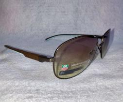 Tag Heuer Aviator Sunglasses Automatic Brown and Blue TH 088