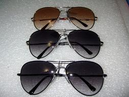 BIFOCAL AVIATOR SUNGLASSES READING GLASSES SPRING HINGE MEN/