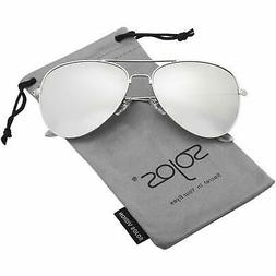 SOJOS Classic Aviator Polarized Sunglasses Mirrored UV400 Le