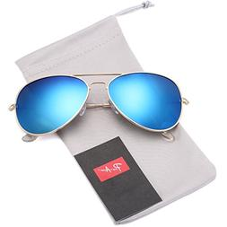 Pro Acme Classic Polarized Aviator Sunglasses for Men and Wo