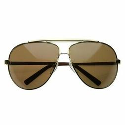 Extra Large Metal Oversize Frame Aviator Sunglasses 1580 70m