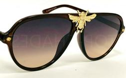 Fashion Designer Aviator Men Women Bee Moth Bug Style Fancy