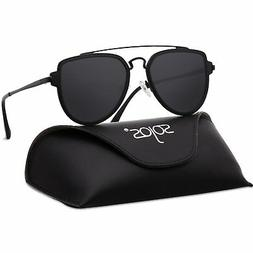 SOJOS Fashion Polarized Aviator Sunglasses for Men Women Mir