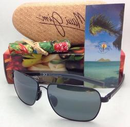 Maui Jim Freight Trains 326-02 | Polarized Gloss Black Aviat