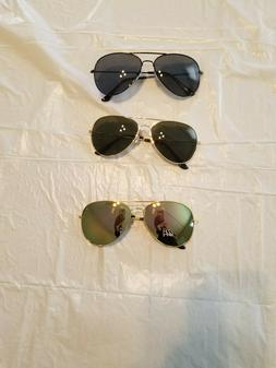 HD Aviator Sunglasses Driver Night Vision Driving Glasses Am