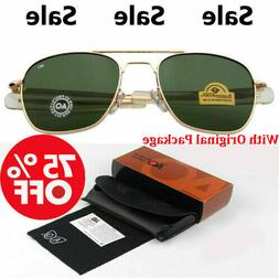 High Quality AO Optical American Army Military Aviator Eyewe