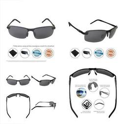 J+S Ultra Lightweight Men's Rimless Sports Sunglasses, Polar