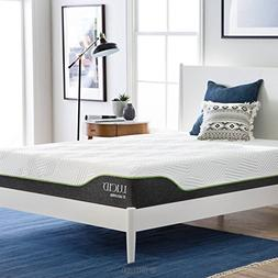 LUCID 10 Inch Queen Latex Hybrid Mattress - Cooling Gel Memo