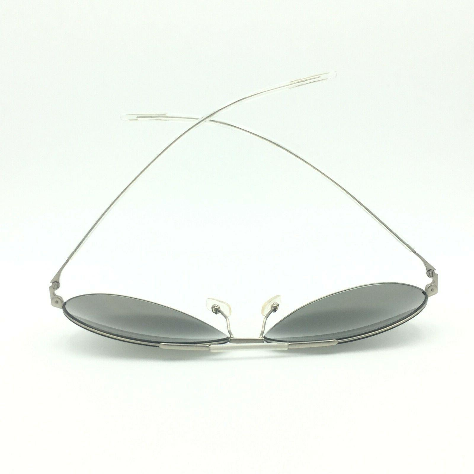 Matte Silver Mirrored Lens
