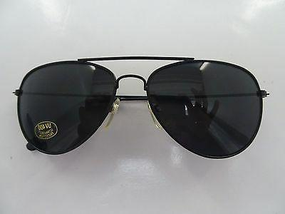 1 Dozen New Aviator Style UV Protection Sunglasses - Black F