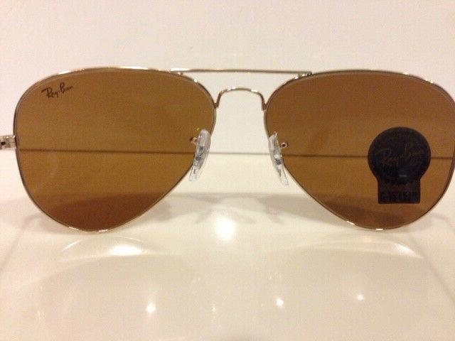 100% Genuine Ban Aviator RB3025 001 33 Sunglasses Lens