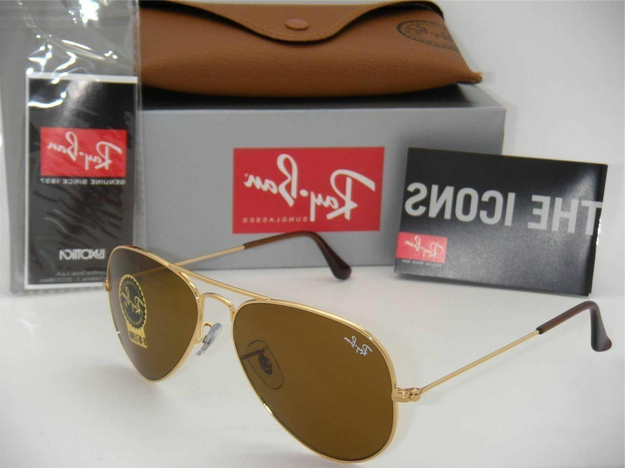 100% Guaranteed Ban 33 Sunglasses Brown 58mm