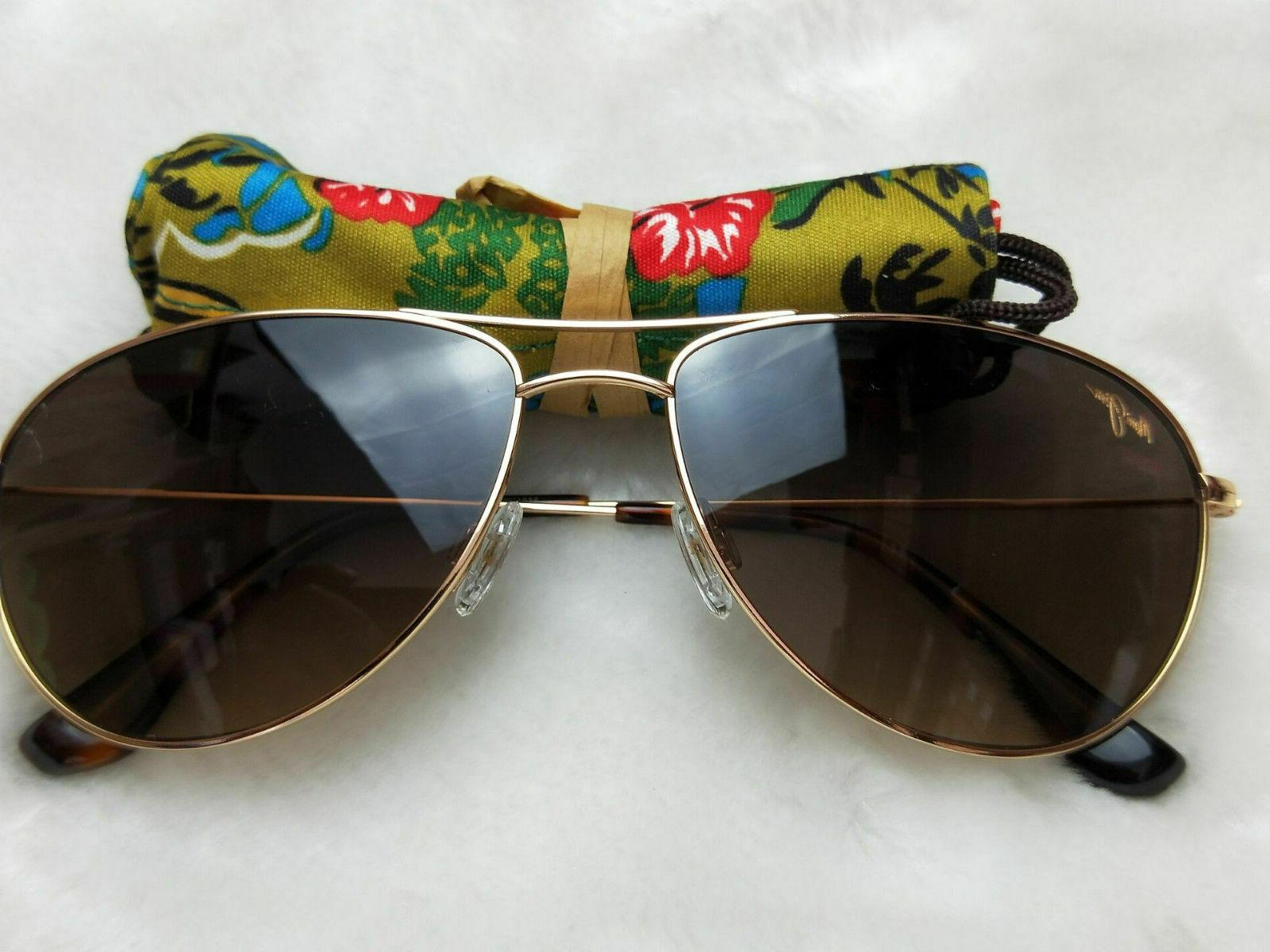 #12 NEW MAUI JIM SEA HOUSE HS772-16 HCL LENSES