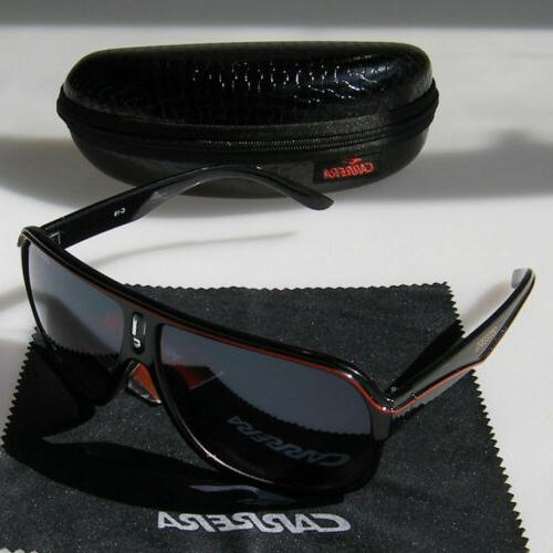 2019 Men Carrera Retro Round Frame Black High