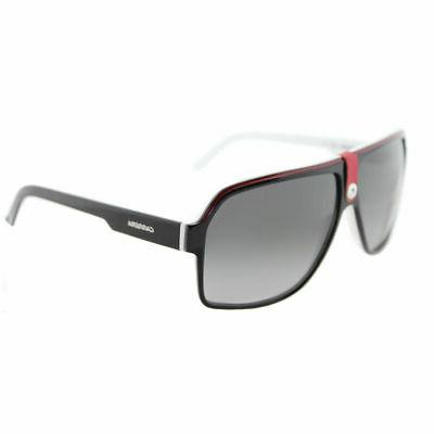 Carrera 33/S Aviator Sunglasses BLACK CRY WHITE