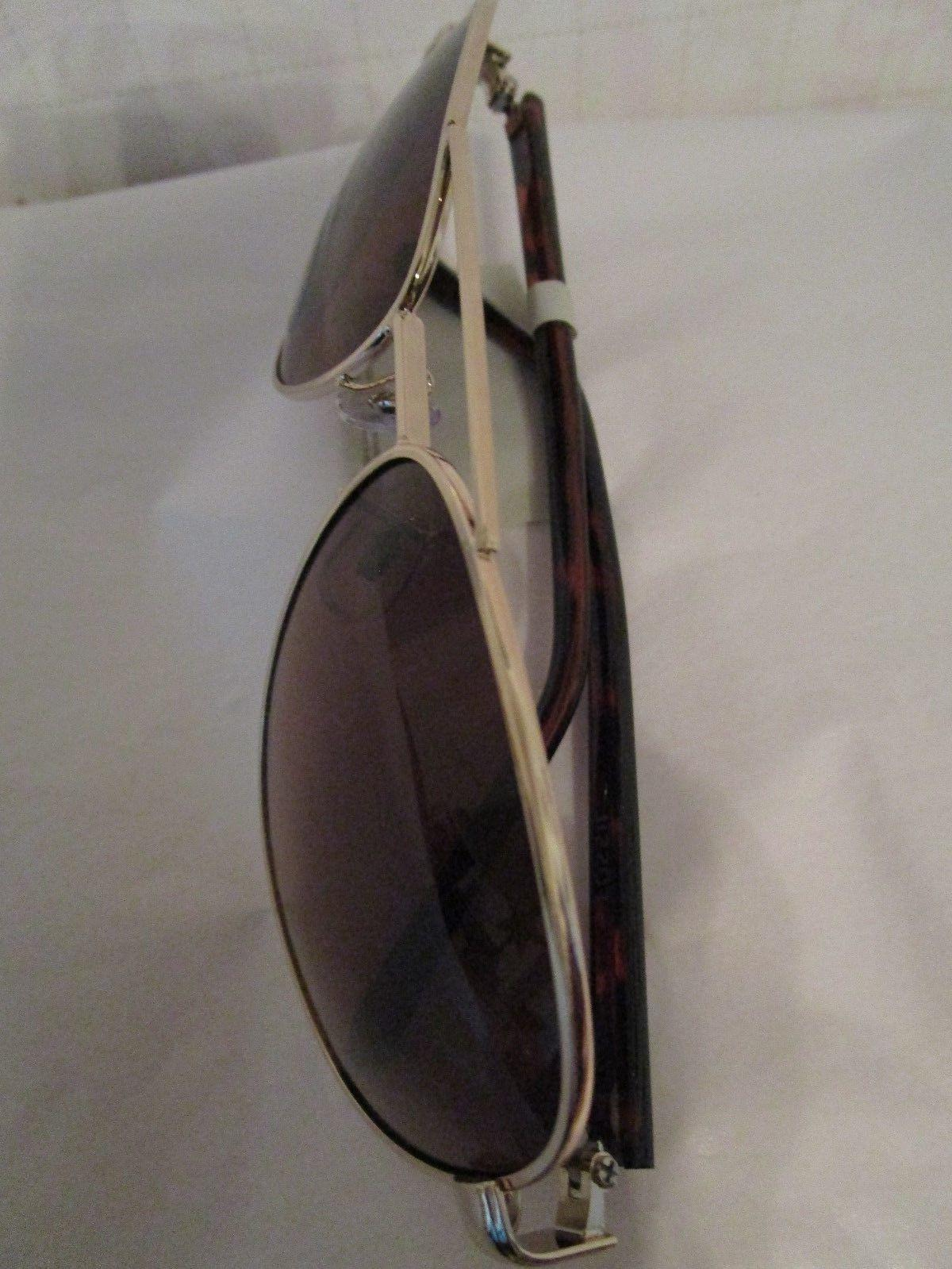 $70 Fossil Authentic FW12 Brown Aviator Protection Women's