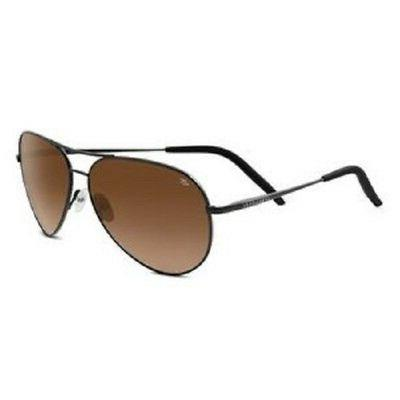 Serengeti 8453 Carrara Amber Lens Medium Unisex Aviator Sung