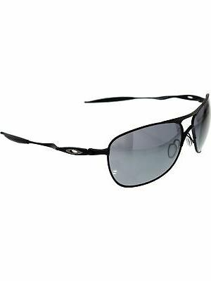Oakley Men's Mirrored Crosshair OO4060-03 Black Square Sungl