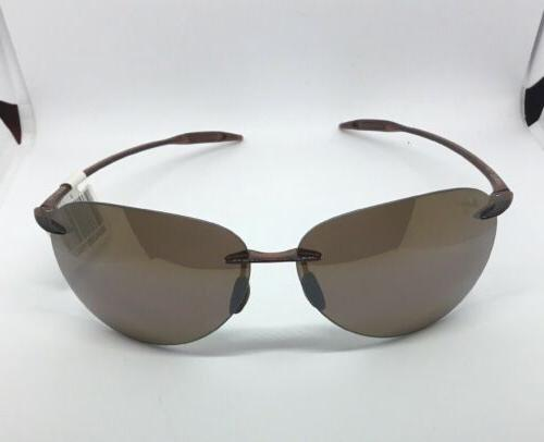authentic aviator sugar beach rootbeer polarised sunglasses