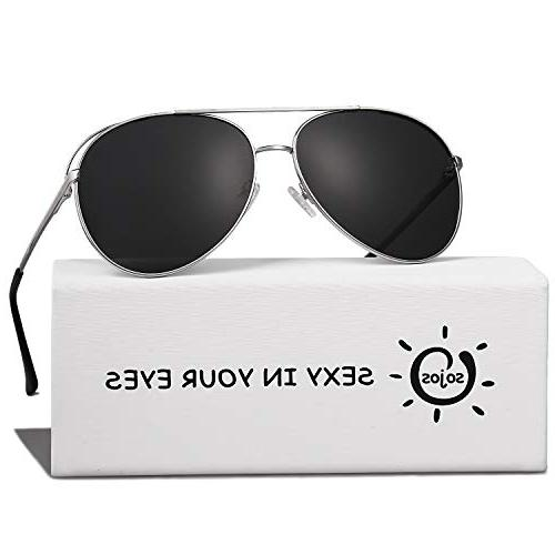 aviator metal frame mirrored lens sunglasses mystyle