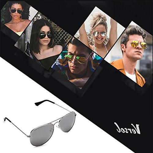 Versol Sunglasses Frame and Protection Classic Style