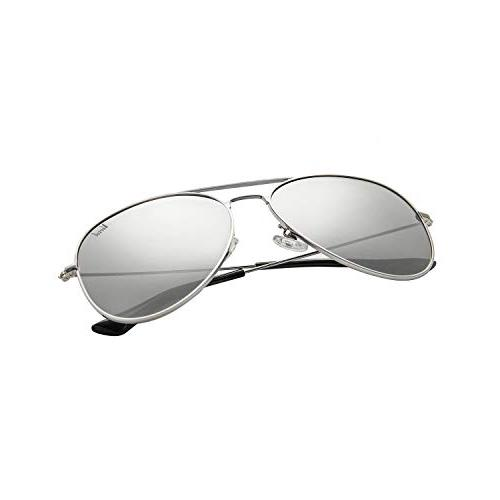 Versol Sunglasses Men Metal Frame Protection 60mm Classic Style