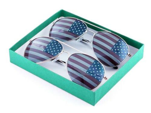 Flag Box party favors 2-Pack
