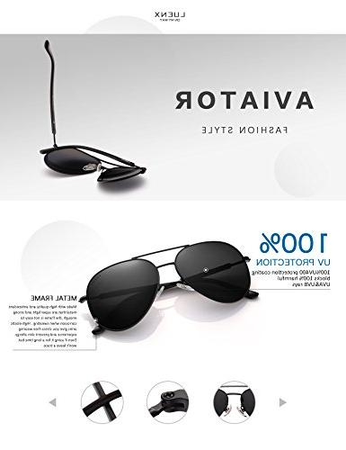Aviator Polarized Metal Frame with - UV400