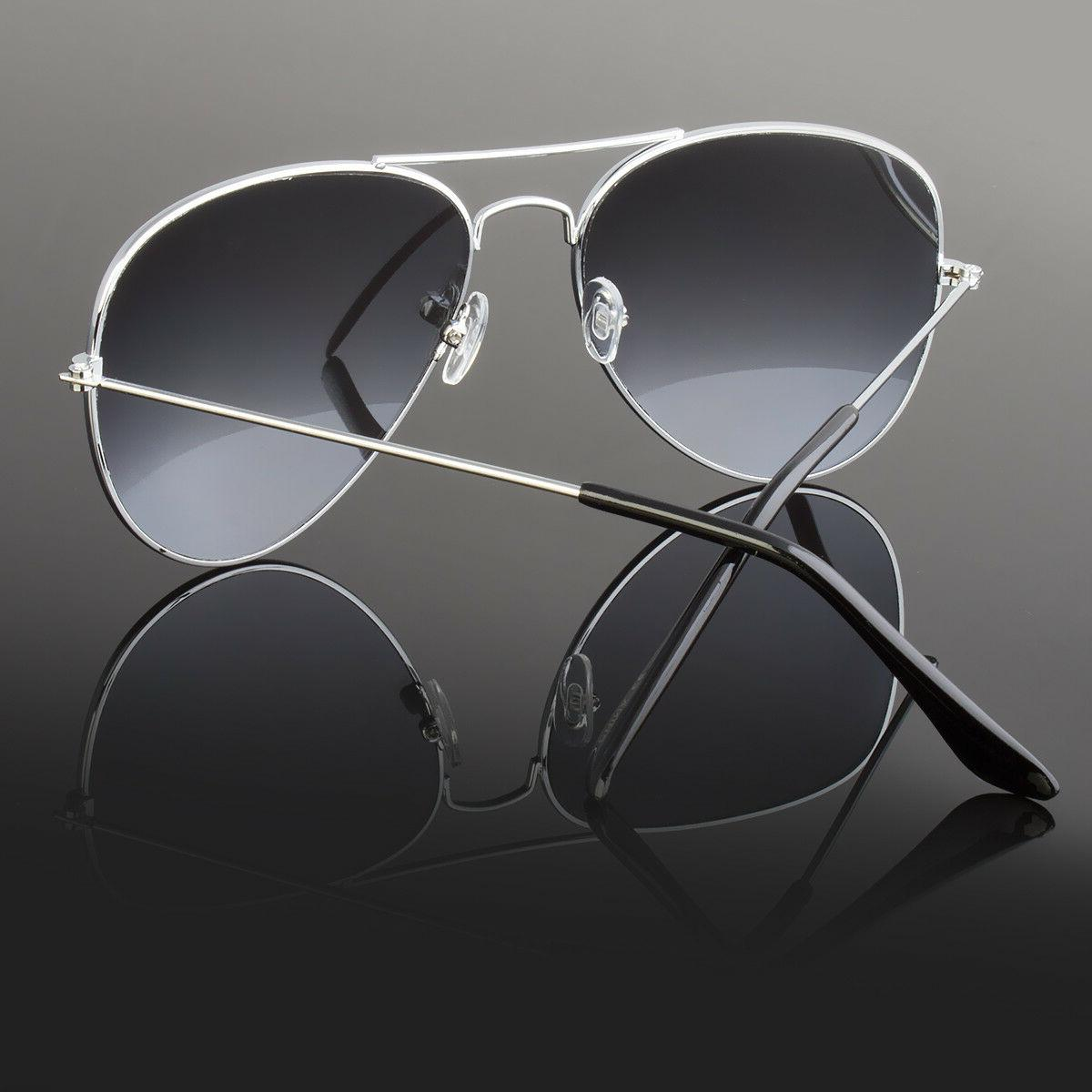 Aviator Sunglasses Vintage Mirror Lens Fashion Retro