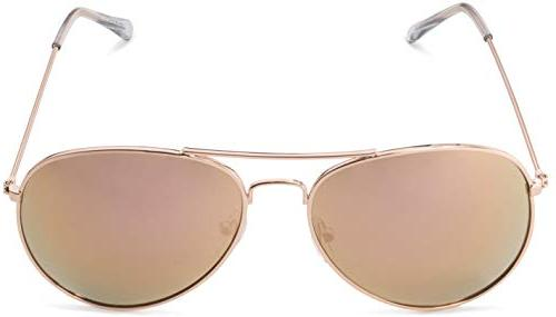Aviator frame and Gold Frame with