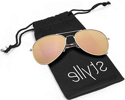 Aviator frame with and Polarized with