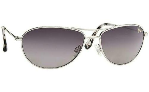 Maui Jim Baby Beach Womens Silver/Neutral Grey Polarized Sun