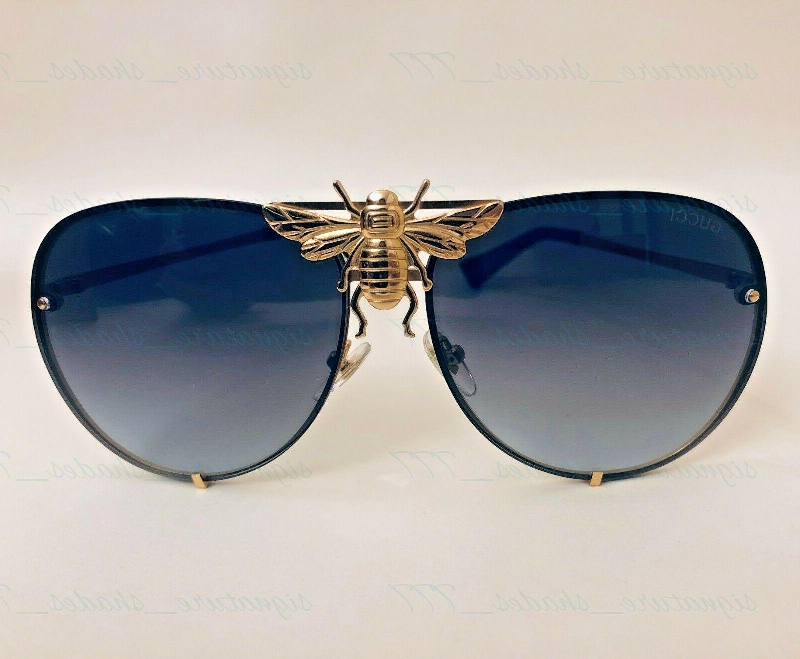 GUCCI BEE AVIATOR I\u0027LL BE RICH FOREVER UNISEX