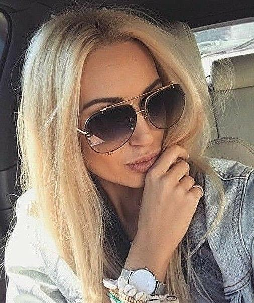 Big XXL OVERSIZED Gradient Women Sunglasses Shadz