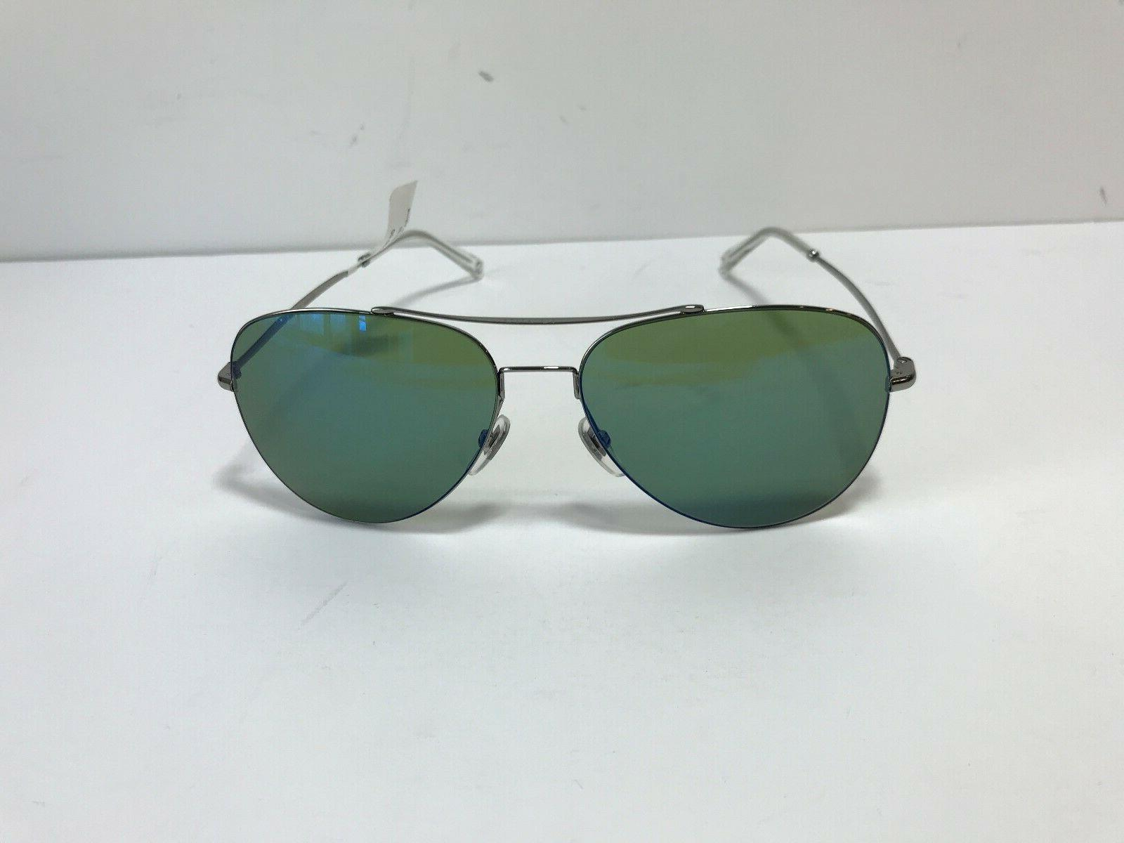 Brand Sunglasses Ruthenium Green