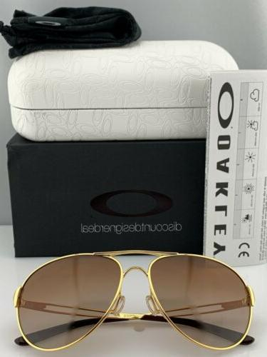 Oakley Caveat Sunglasses OO4054-07 Gold Frame Brown Gradient 60mm