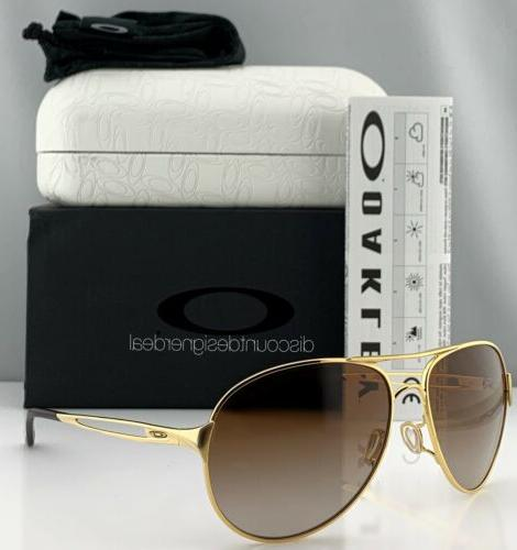 caveat aviator sunglasses oo4054 07 gold metal
