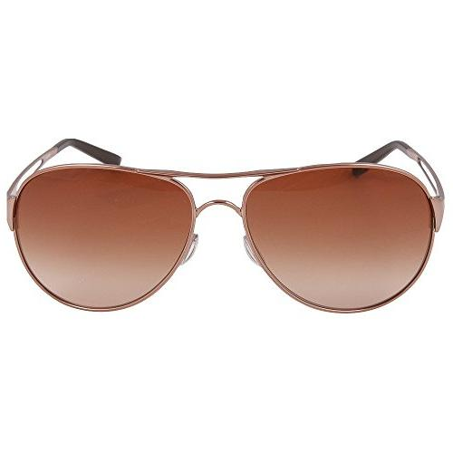Oakley Women's Caveat Sunglasses,Rose Gold Frame/Brown Lens,One